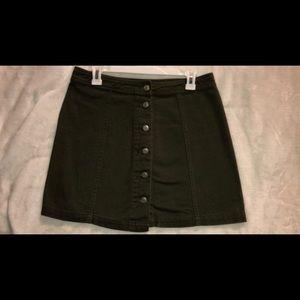 Forest Green Skirt